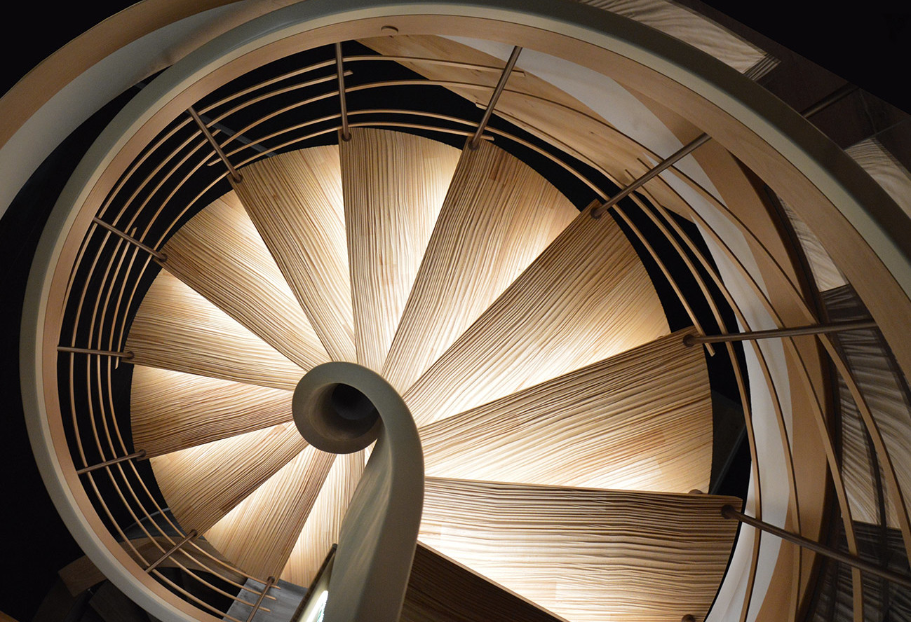 Escalier bois Ascenso