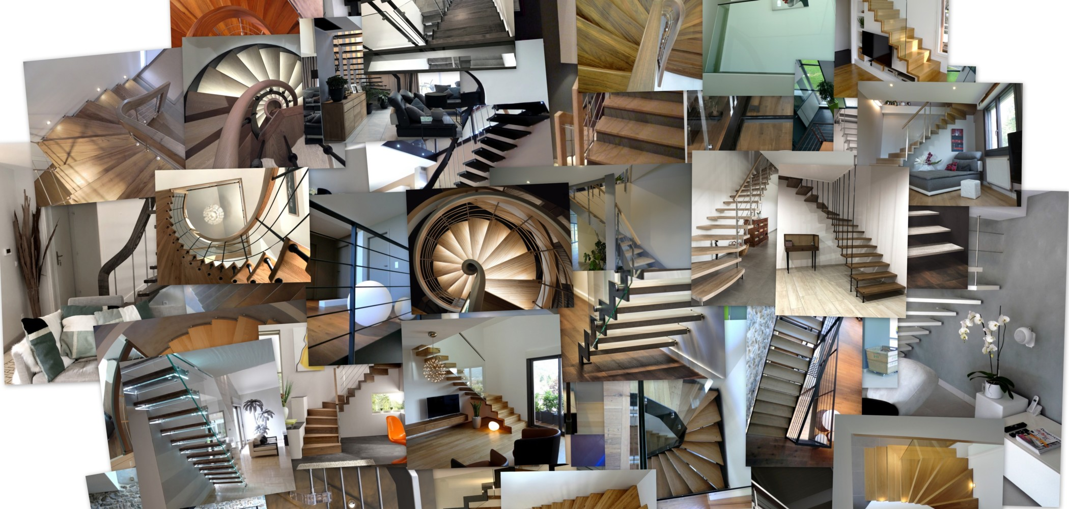 ascenso réalisation escaliers