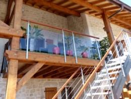 Escalier et garde-corps extérieur