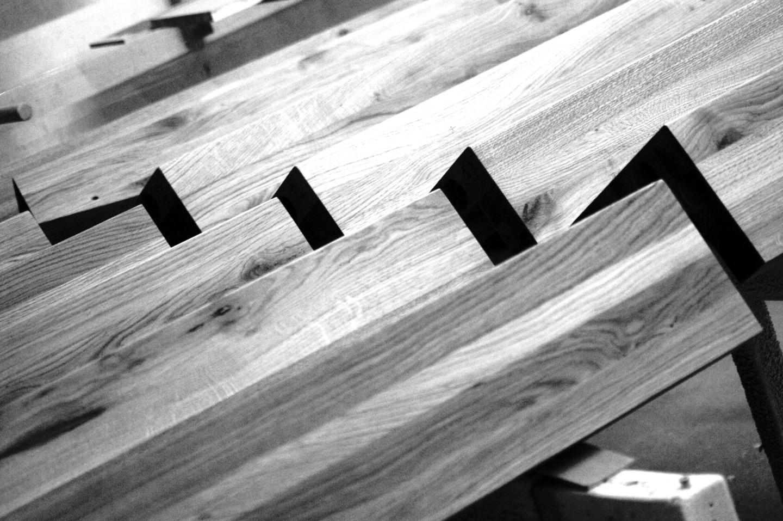 escalier marche contremarche en bois sans limon