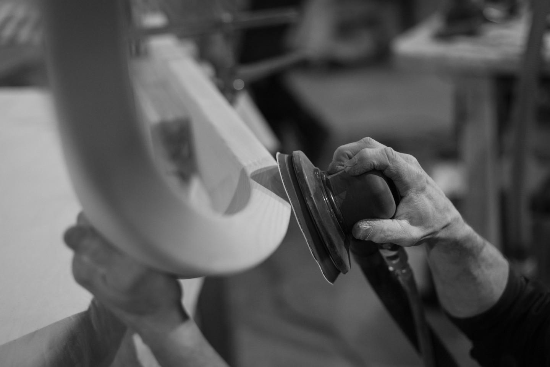 main courante débillardée par ascenso artisan