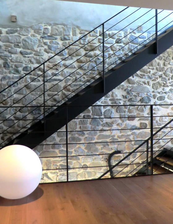 Escalier moderne loft