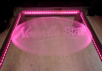 Table sur mesure nouvelle star